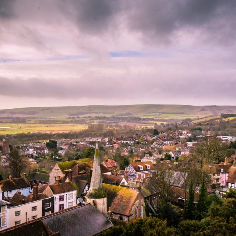 Lewes: a Hike, a Roast, a Castle