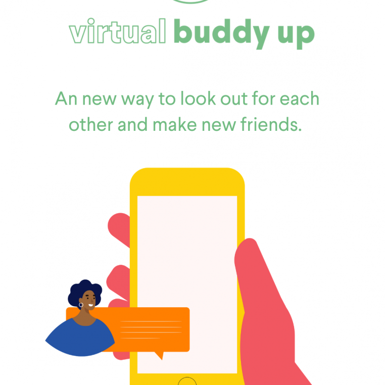 What's new with the Buddy Scheme? Virtual Buddy Up!
