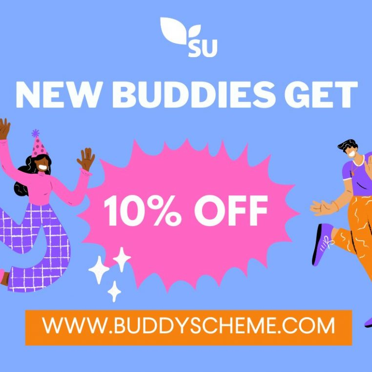 Get a Buddy and get 10% off